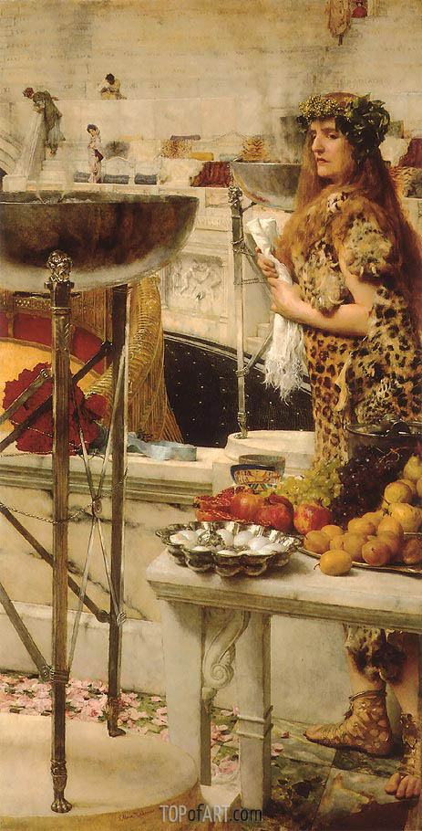 Preparation in the Coliseum, 1912 | Alma-Tadema | Gemälde Reproduktion