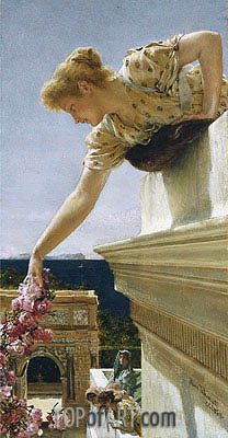 God Speed, 1893 | Alma-Tadema | Painting Reproduction