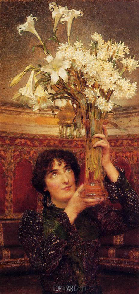 A Flag of Truce, 1900 | Alma-Tadema | Painting Reproduction