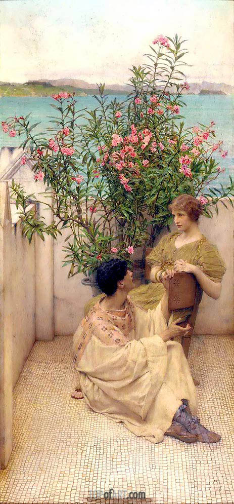 Courtship, undated | Alma-Tadema | Painting Reproduction