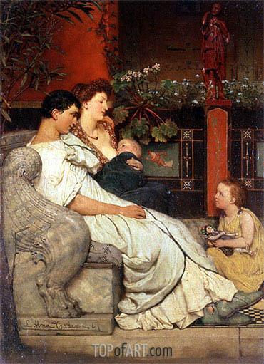 Alma-Tadema | A Roman Family, undated