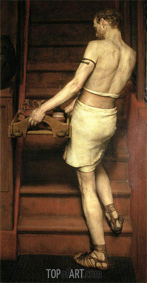The Roman Potter, 1884 | Alma-Tadema | Painting Reproduction