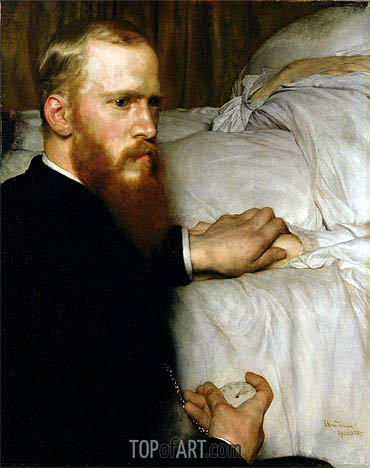 Alma-Tadema | Portrait of Dr Washington Epps, My Doctor, May 1885