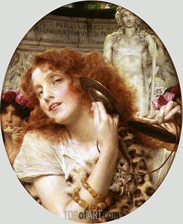 Alma-Tadema | Bacchante, 1907