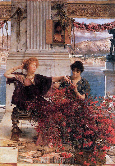 Alma-Tadema | Love's Jewelled Fetter, 1895