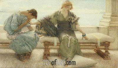 Ask me no More, 1886 | Alma-Tadema | Painting Reproduction