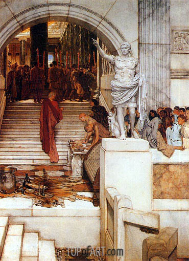 Alma-Tadema | After the Audience, 1879