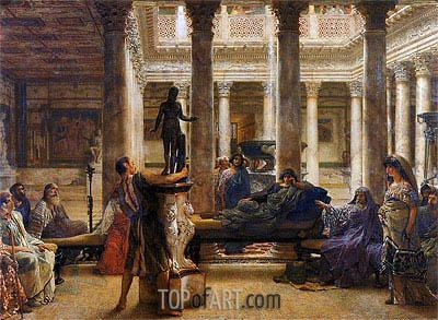 Alma-Tadema | A Roman Art Lover, 1870