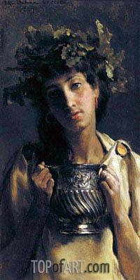 Alma-Tadema | A Prize for the Artists' Corps (Wine),