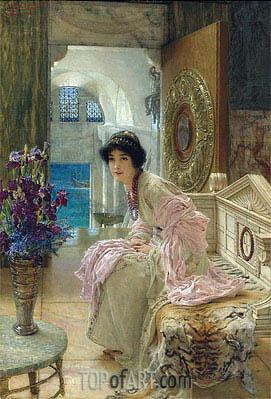 Alma-Tadema | Watching and Waiting,