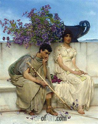 Alma-Tadema | An Eloquent Silence,
