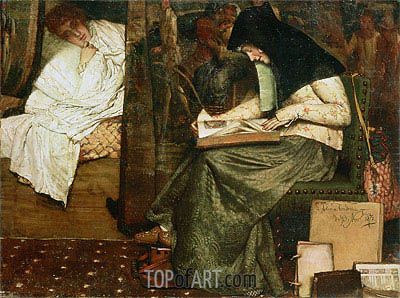 The Nurse,  | Alma-Tadema | Painting Reproduction