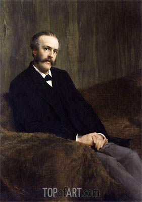 Arthur James Balfour, 1st Earl of Balfour, 1891 | Alma-Tadema| Painting Reproduction