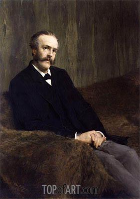 Alma-Tadema | Arthur James Balfour, 1st Earl of Balfour, 1891