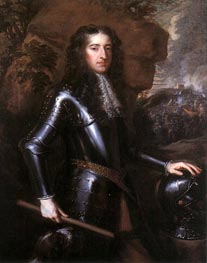 King William III, 1677 by Peter Lely | Painting Reproduction