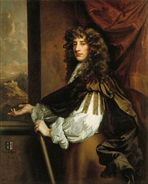 Charles Killigrew, c.1673 by Peter Lely | Painting Reproduction