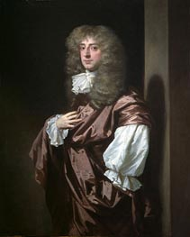 Portrait of Sir Thomas Thynne, later 1st Viscount Weymouth, undated by Peter Lely | Painting Reproduction