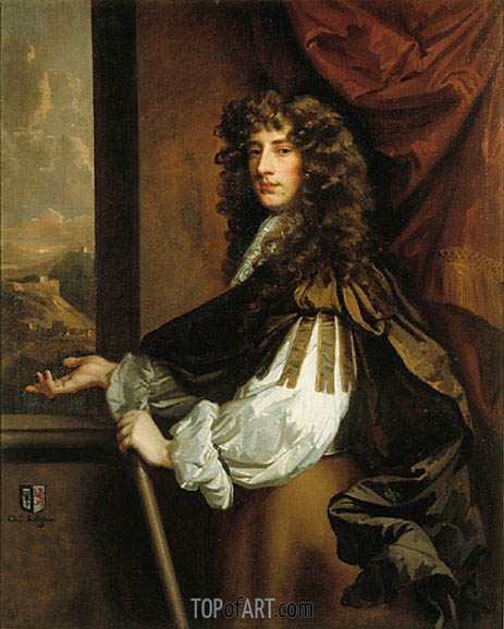 Charles Killigrew, c.1673 | Peter Lely | Painting Reproduction