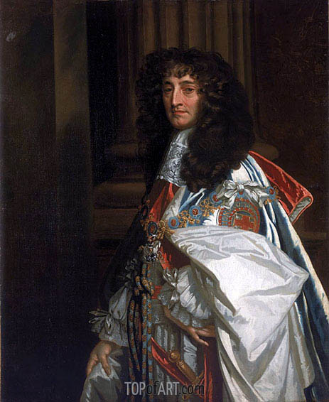 Prince Rupert, 1st Duke of Cumberland and Count Palatine of the Rhine, 1665 | Peter Lely | Painting Reproduction