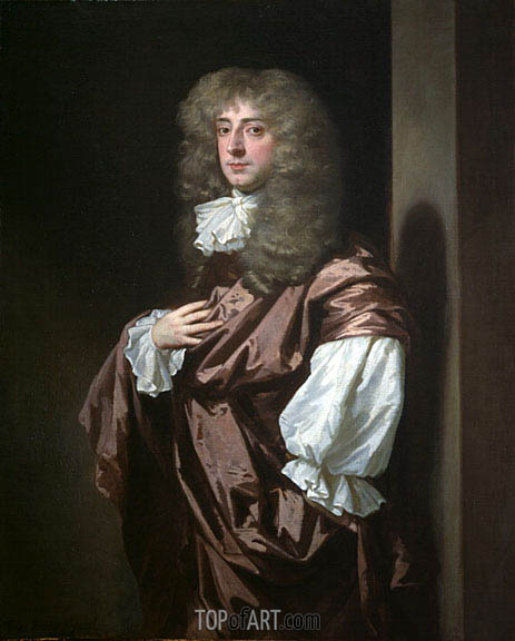 Portrait of Sir Thomas Thynne, later 1st Viscount Weymouth, undated | Peter Lely | Gemälde Reproduktion