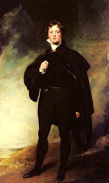 Portrait Of George Nugent Grenville, Lord Nugent | Thomas Lawrence | Painting Reproduction