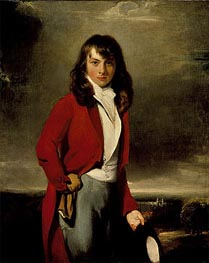 Portrait of Arthur Atherley as an Etonian | Thomas Lawrence | Painting Reproduction