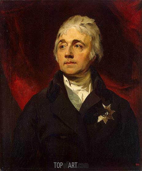 Portrait of Count Semyon Vorontsov, c.1805/06 | Thomas Lawrence | Painting Reproduction