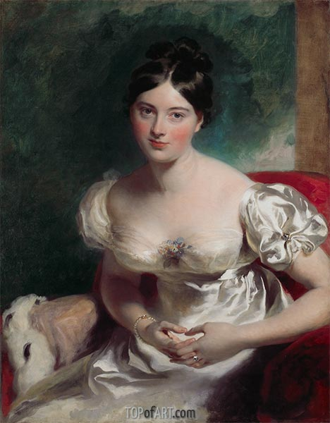 Thomas Lawrence | Margaret, Countess of Blessington, c.1822