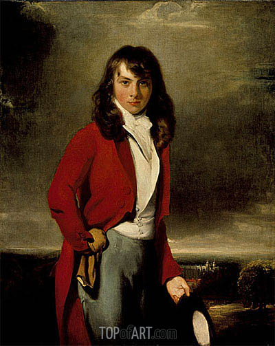 Portrait of Arthur Atherley as an Etonian, c.1791 | Thomas Lawrence | Gemälde Reproduktion