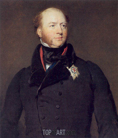 Francis Charles Seymour-Conway, 3rd Marquess of Hertford, c.1825 | Thomas Lawrence | Gemälde Reproduktion