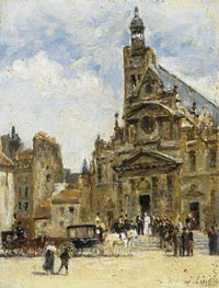 Wedding in St. Etienne du Mont | Lepine | Painting Reproduction