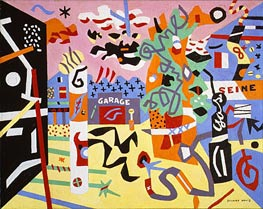 Report from Rockport, 1940 by Stuart Davis | Painting Reproduction