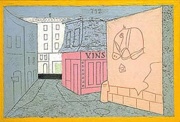 Rue des Rats, No. 2, 1928 by Stuart Davis | Painting Reproduction