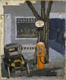 Garage No. 1, 1917 by Stuart Davis | Painting Reproduction