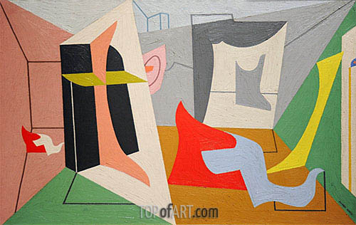 Egg Beater 3, 1927 | Stuart Davis | Painting Reproduction