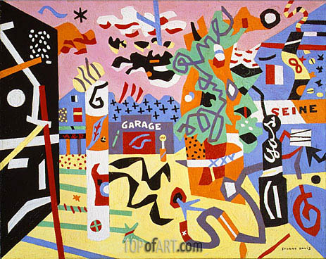 Report from Rockport, 1940 | Stuart Davis | Painting Reproduction