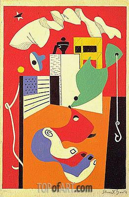 Stuart Davis | T-View, 1932