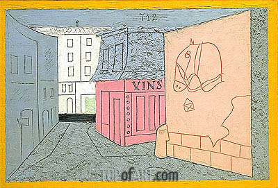 Rue des Rats, No. 2, 1928 | Stuart Davis | Painting Reproduction