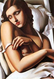 The Convalescent, 1932 by Lempicka | Painting Reproduction