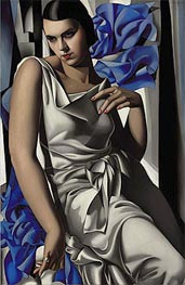 Portrait of Mrs M, 1932 by Lempicka | Painting Reproduction