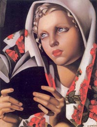 The Polish Girl, 1933 by Lempicka | Painting Reproduction