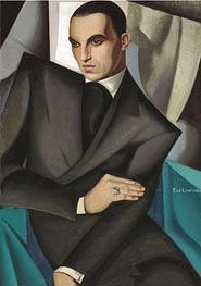 Portrait of Marquis Sommi | Lempicka | Gemälde Reproduktion