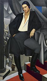 Portrait of the Duchess of La Salle | Lempicka | Gemälde Reproduktion
