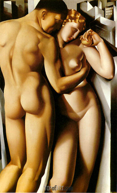Adam and Eve, 1932 | Lempicka| Painting Reproduction