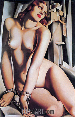 Andromeda, 1929 | Lempicka | Painting Reproduction