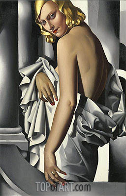 Portrait of Marjorie Ferry, 1932 | Lempicka | Painting Reproduction