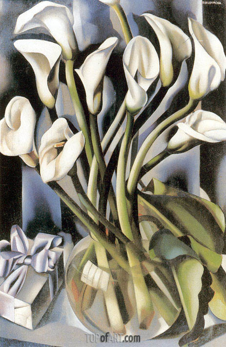 Arums, c.1931 | Lempicka | Painting Reproduction