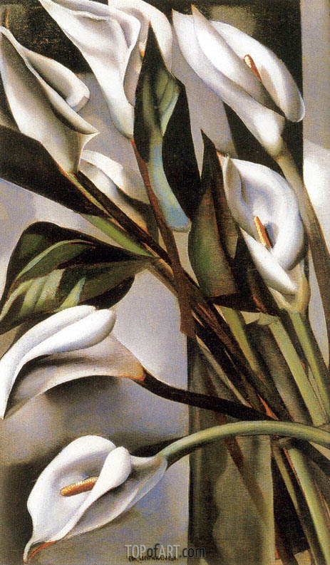 Arums, 1931 | Lempicka | Painting Reproduction