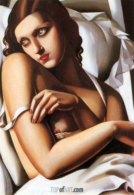 The Convalescent, 1932 | Lempicka | Painting Reproduction
