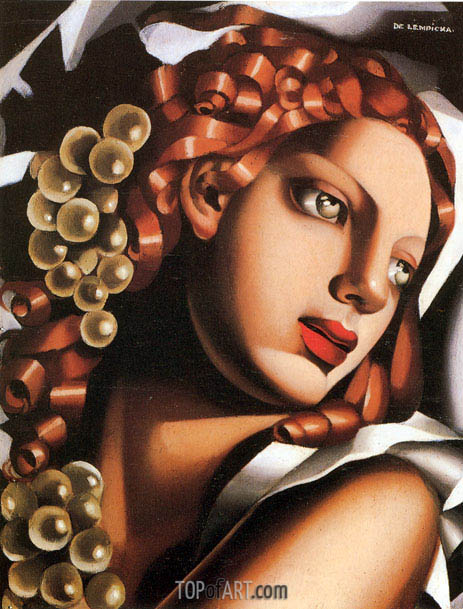The Brilliance, c.1932 | Lempicka | Gemälde Reproduktion